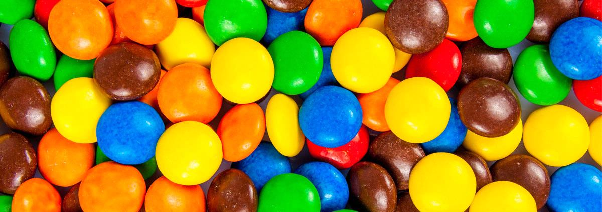 Jo sóc el teu M&M de color marró!